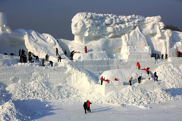 Heilongjiang Province「20th International Snow Sculpture Art Expo Held In Harbin」:写真・画像(15)[壁紙.com]