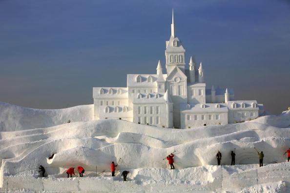 Heilongjiang Province「20th International Snow Sculpture Art Expo Held In Harbin」:写真・画像(5)[壁紙.com]