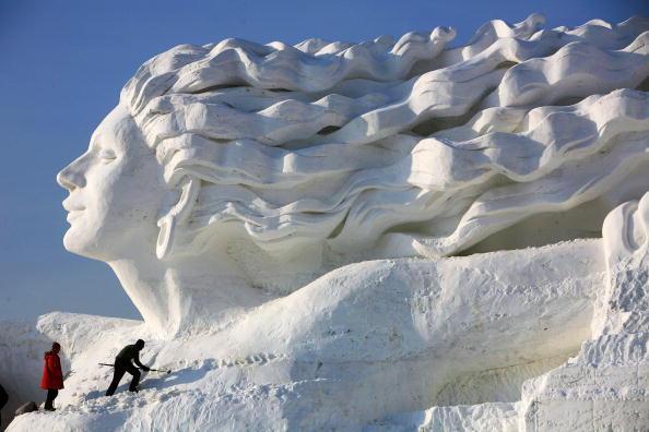 Heilongjiang Province「20th International Snow Sculpture Art Expo Held In Harbin」:写真・画像(17)[壁紙.com]