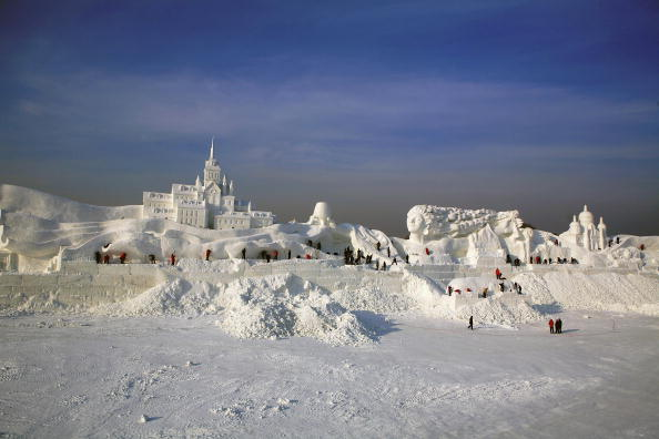Heilongjiang Province「20th International Snow Sculpture Art Expo Held In Harbin」:写真・画像(18)[壁紙.com]