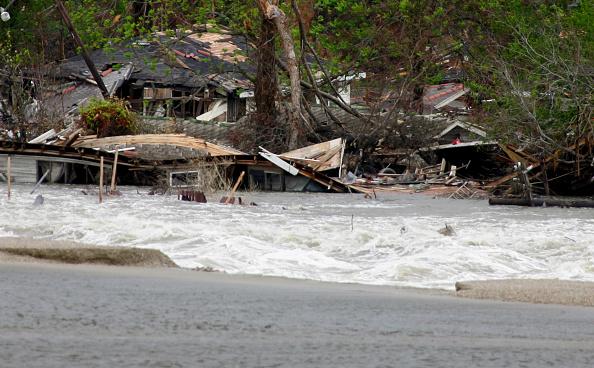 Damaged「New Orleans Feels Effects Of Hurricane Rita」:写真・画像(19)[壁紙.com]