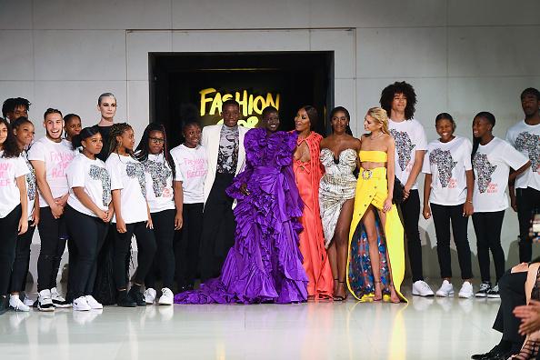 Finishing「Runway - Fashion For Relief London 2019」:写真・画像(14)[壁紙.com]