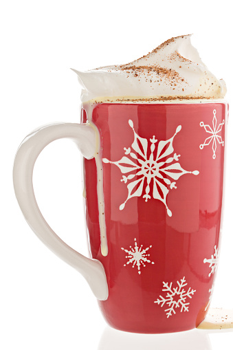 Cocktail「Eggnog In A Red Christmas Mug.」:スマホ壁紙(0)