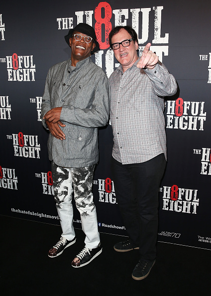 The Hateful Eight「The Hateful Eight Australian Premiere - Arrivals」:写真・画像(1)[壁紙.com]