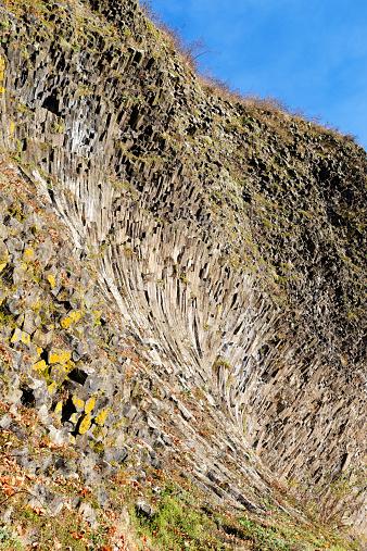 Basalt「Germany, Bavaria, Upper Palatinate, Volcano Parkstein, basalt」:スマホ壁紙(0)