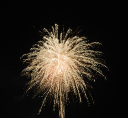 お正月「Germany, Bavaria, Kochel am See, fireworks at night sky」:スマホ壁紙(17)