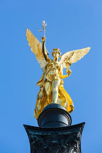 Munich「Germany, Bavaria, Munich, Angel of Peace monument」:スマホ壁紙(19)