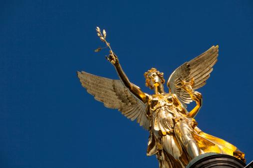 Munich「Germany, Bavaria, Munich, Angel of Peace monument」:スマホ壁紙(13)