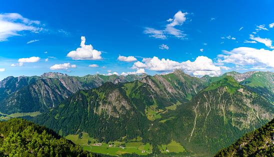 European Alps「Germany, Bavaria, Allgaeu, view from Himmelschrofen」:スマホ壁紙(7)