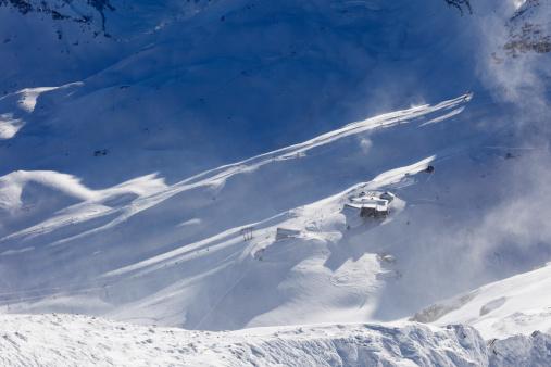 Ski Resort「Germany, Bavaria, View of Zugspitzzplatt skiing region」:スマホ壁紙(17)