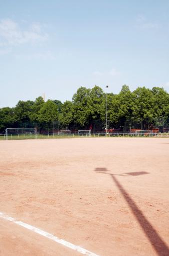 Goal Post「Germany, Bavaria, Empty football pitch」:スマホ壁紙(16)