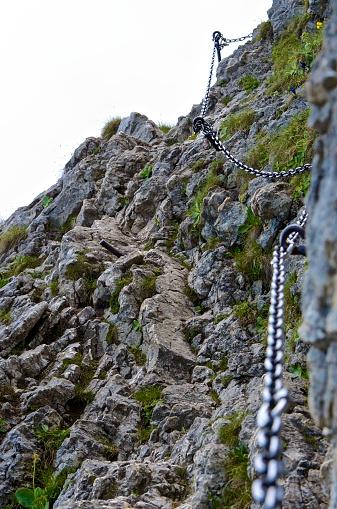 Steep「Germany, Bavaria, Oberammergau, view to via ferrata」:スマホ壁紙(14)