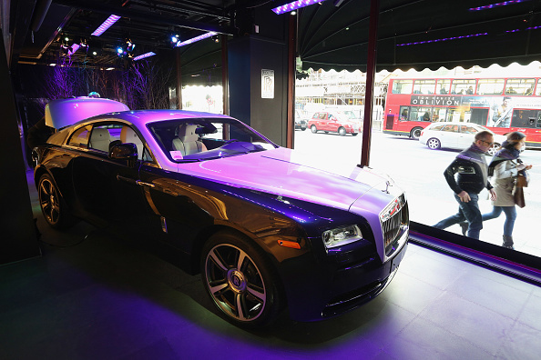 New「The Rolls-Royce Wraith Makes Its First Appearance In The UK In Harrods」:写真・画像(14)[壁紙.com]