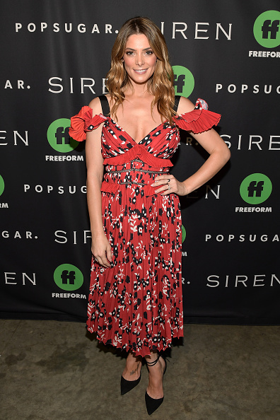 アシュリー グリーン「POPSUGAR x Freeform Mermaid Museum VIP Night」:写真・画像(7)[壁紙.com]