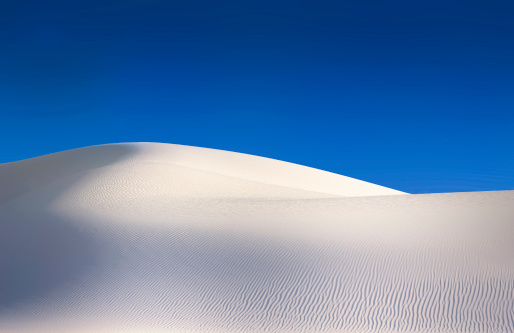 New Mexico「Simple white sand dunes」:スマホ壁紙(4)