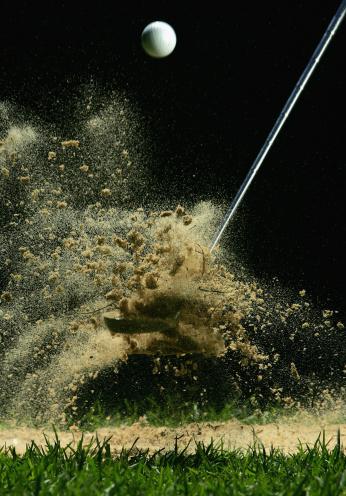 Sand Trap「Golf Ball Being Hit」:スマホ壁紙(5)