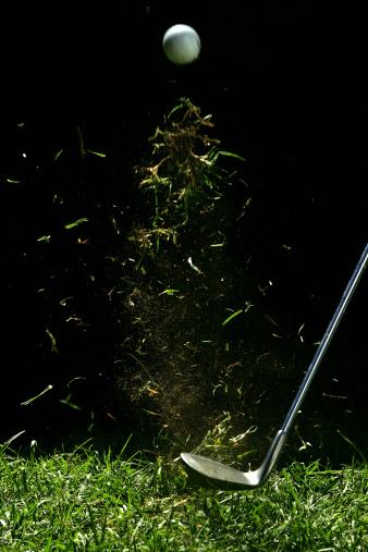 Golf Swing「Golf Ball Being Hit」:スマホ壁紙(11)