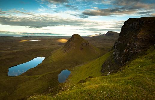 Quirang「UK, Scotland, Isle of Skye, Quiraing」:スマホ壁紙(13)