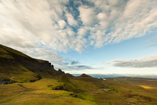 Quirang「UK, Scotland, Isle of Skye, Quiraing」:スマホ壁紙(7)