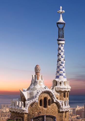 Barcelona - Spain「Barcelona, Parc Guell」:スマホ壁紙(13)