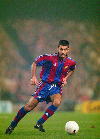 Athlete「Pep Guardiola Barcelona 1997」:写真・画像(7)[壁紙.com]