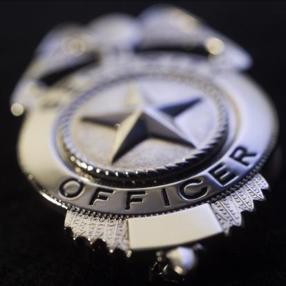 Badge「Police badge, close-up」:スマホ壁紙(13)