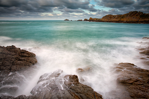 France「France, Brittany, Pointe de Decolle」:スマホ壁紙(0)