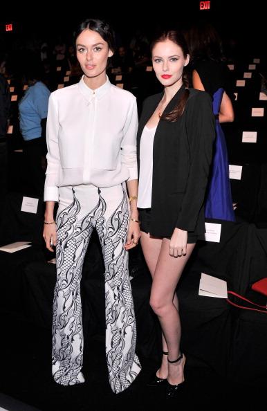 Black Shorts「Carolina Herrera - Front Row - Mercedes-Benz Fashion Week Spring 2014」:写真・画像(0)[壁紙.com]