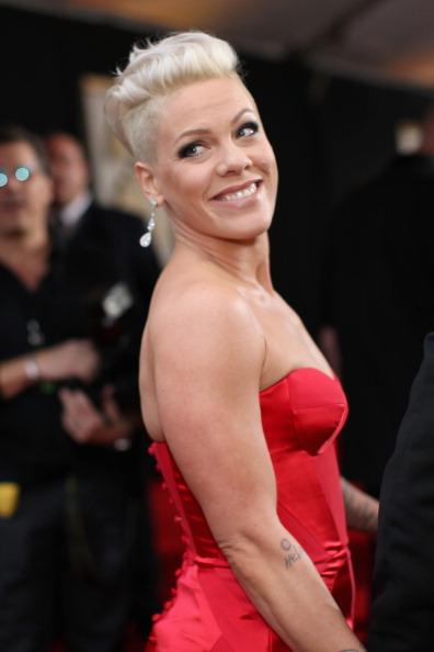 Pink - Singer「56th GRAMMY Awards - Red Carpet」:写真・画像(6)[壁紙.com]