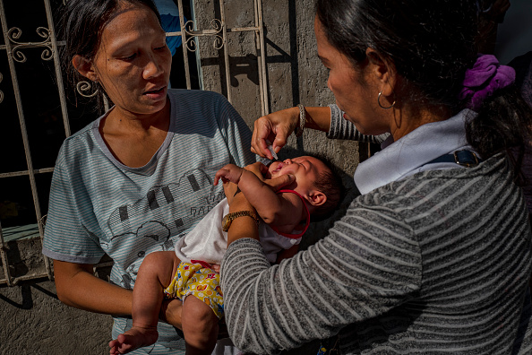 Ezra Acayan「Mass Polio Vaccination In The Philippines」:写真・画像(11)[壁紙.com]