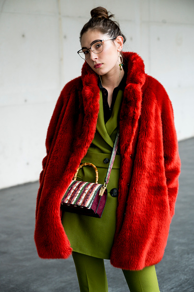 Fur「Street Style - Day 3 - Mercedes Benz Fashion Week Madrid Autumn/Winter 2020-21」:写真・画像(5)[壁紙.com]