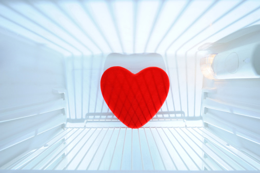Refrigerated Section「Red heart shape in refrigerator」:スマホ壁紙(16)