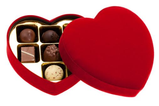 Red Velvet Flavor「Red heart shaped box of chocolates」:スマホ壁紙(15)