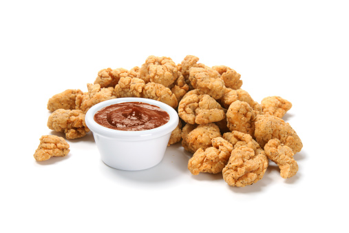 Deep Fried「Popcorn Chicken with Barbecue Sauce」:スマホ壁紙(11)