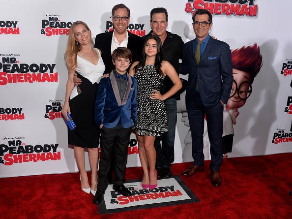 アリエル ウィンター「Premiere Of Twentieth Century Fox And DreamWorks Animation's 'Mr. Peabody & Sherman' - Red Carpet」:写真・画像(9)[壁紙.com]