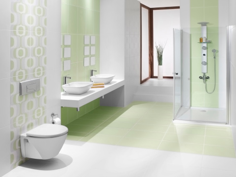 Tile「Domestic bathrooms」:スマホ壁紙(3)