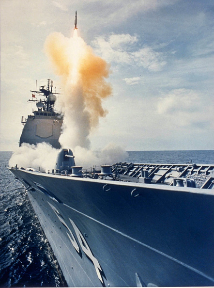 USA「AEGIS missle launch from USS Antietam」:写真・画像(12)[壁紙.com]
