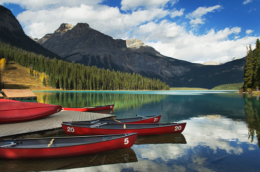 Yoho National Park「Emerald Lake, Yoho National Park」:スマホ壁紙(16)