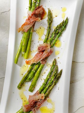 Asparagus「Roasted Asparagus Wrapped in Prosciutto」:スマホ壁紙(16)