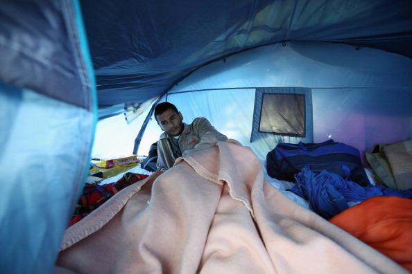 Sangatte「Illegal Immigrants In Calais」:写真・画像(14)[壁紙.com]