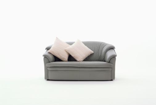 ソファ「Gray sofa and cushions」:スマホ壁紙(3)