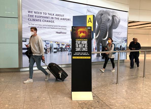 Heathrow Airport「Heathrow Sees Further Drop In Passenger Travel Amid Coronavirus Restrictions」:写真・画像(8)[壁紙.com]