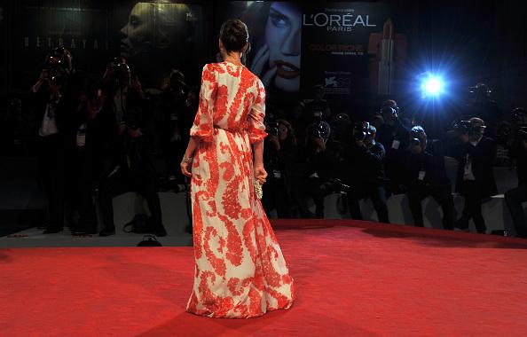 "Flared Dress「""Cherchez Hortense"" Premiere - The 69th Venice Film Festival」:写真・画像(8)[壁紙.com]"
