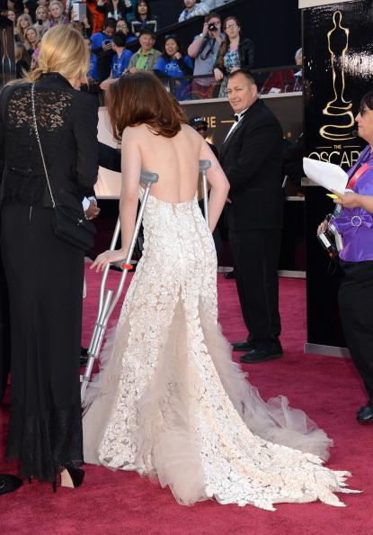 Embellished Dress「85th Annual Academy Awards - Arrivals」:写真・画像(17)[壁紙.com]