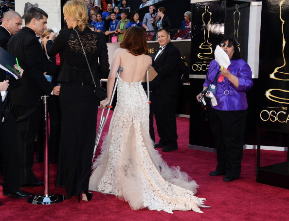 Embellished Dress「85th Annual Academy Awards - Arrivals」:写真・画像(16)[壁紙.com]