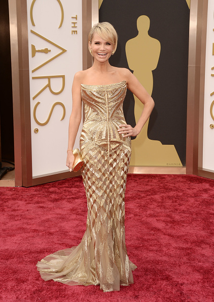 Strapless Evening Gown「86th Annual Academy Awards - Arrivals」:写真・画像(12)[壁紙.com]
