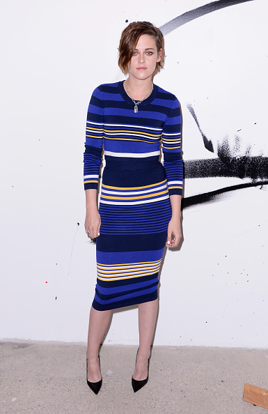 Striped「AOL's BUILD Speaker Series: Julianne Moore And Kristen Stewart」:写真・画像(6)[壁紙.com]