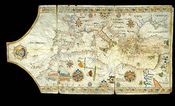 Mediterranean Sea「Portolan Chart Of The Mediterranean Sea」:写真・画像(5)[壁紙.com]