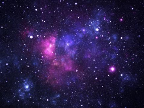 Galaxy「Space galaxy」:スマホ壁紙(6)