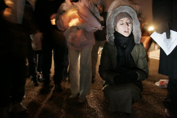 Idaho State Capitol「Ten Commandments Supporters Hold Supreme Court Candlelight Vigil」:写真・画像(1)[壁紙.com]